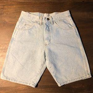 Vintage 90's Wrangler Bermuda Jeans Shorts Size 27